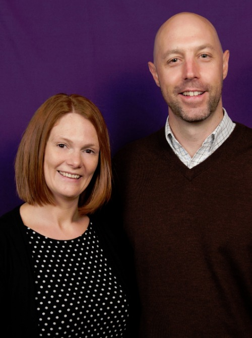 photo of Mick & Jenny Sheehan at Home Instead Oldham