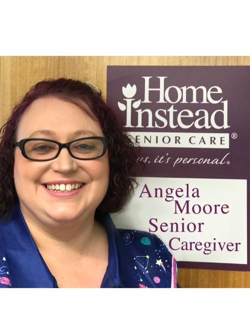 Senior Caregiver, Angela Moore