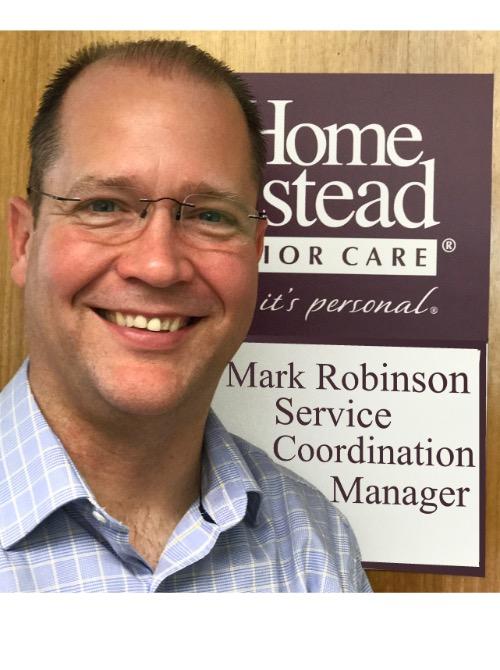 Service Coordination Manager, Mark Robinson