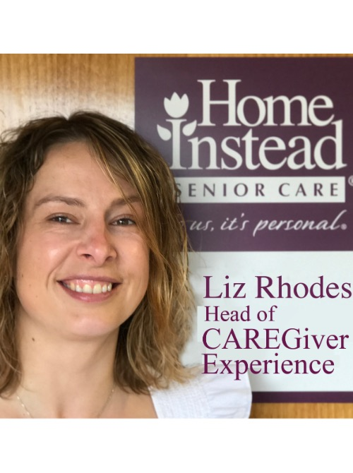 Head of CAREGiver Experience, Liz Rhodes