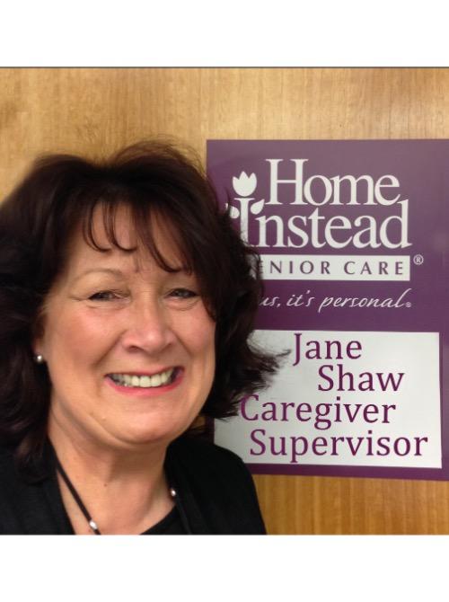 Caregiver Supervisor, Jane Shaw