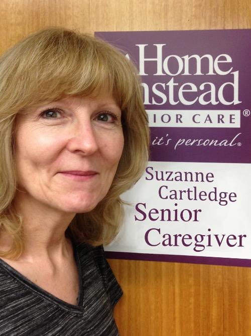 Senior CAREGIver, Suzanne Cartledge