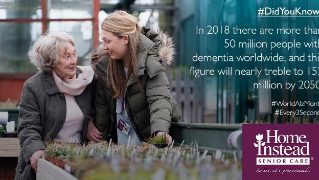 World Alzheimer's Month – September 2018