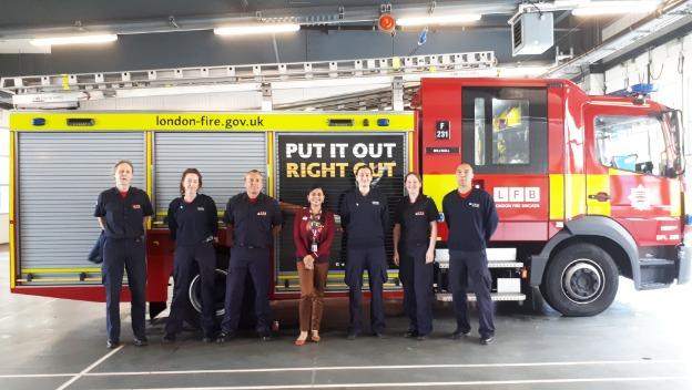 Dementia talk for Millwall and Poplar Fire Stations