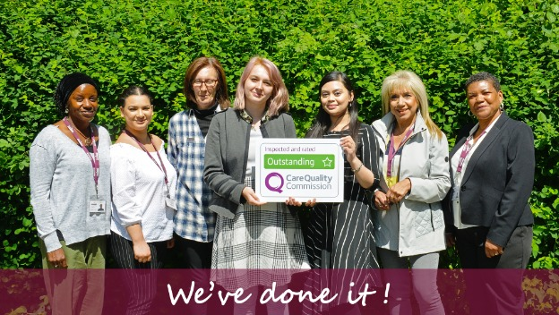 Home Instead Canary Wharf receives 'Outstanding' CQC rating – 29 May 2018
