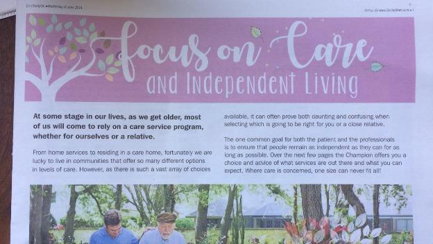 Focus on Care - 6th June 2018