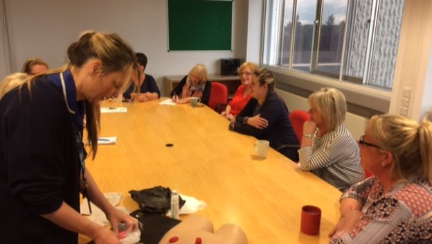 Specialist Training for our CAREGivers