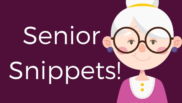 Senior Snippets - Reducing the risk of Hospitalisation