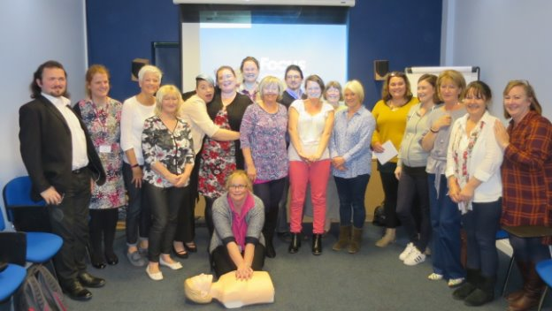 CAREGiver Quarterly Meeting and CPR Training
