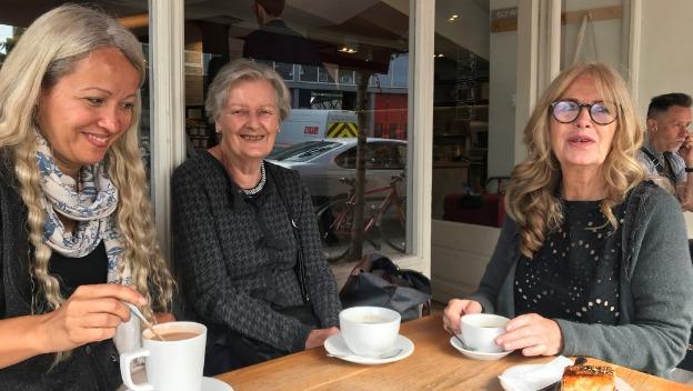 Pauline enjoys a trip to Gail\'s bakery