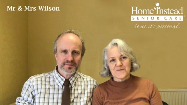 Mr & Mrs Wilson - Local Heroes - Dementia Awareness Week