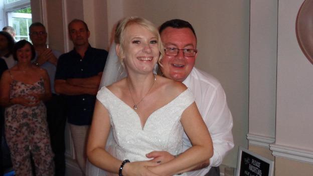 Sarah got married!