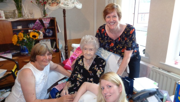 Happy 100th birthday Irene