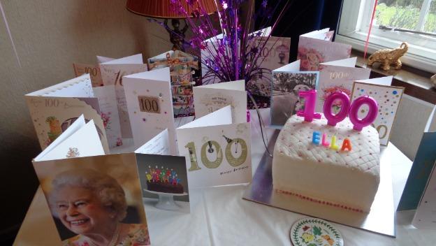 Happy 100th birthday Ella