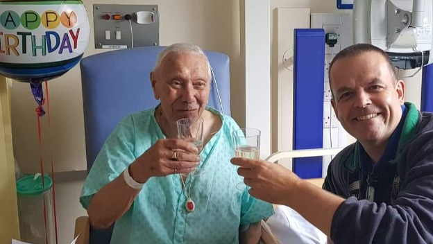 "Lancaster Bomber ""Bill"" turns 97 Happy Birthday from Home Instead Northampton"