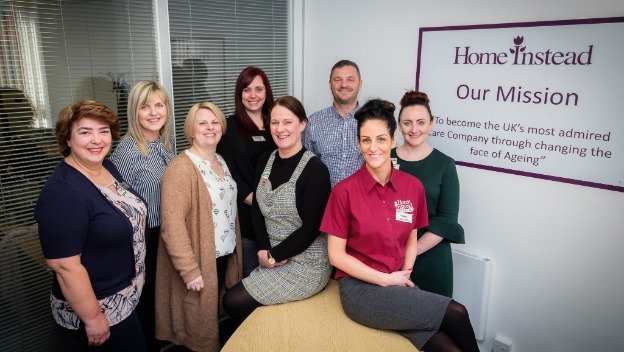 Home Instead Northampton finds new Home!