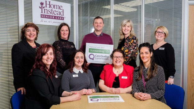 Proud to be rated OUTSTANDING by CQC