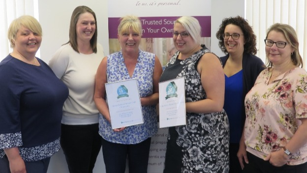 Norwich home care company wins top recommendation award