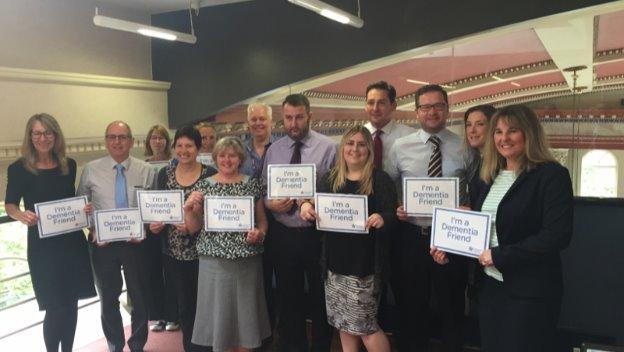 Dementia friends session in Norwich
