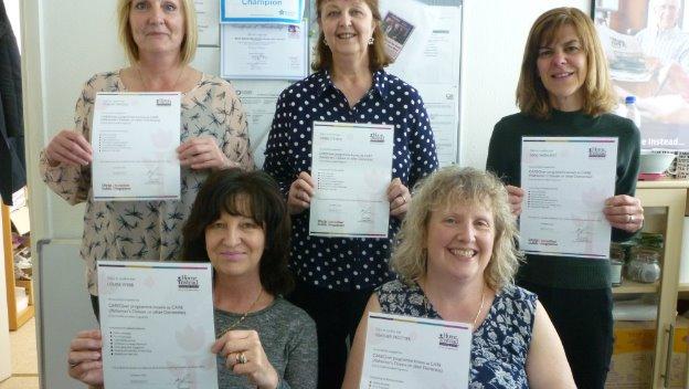 CareGivers complete Alzheimer\'s training