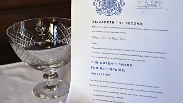 The Queen's award for Innovation