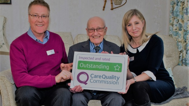 Home Instead Reigate is officially OUTSTANDING!