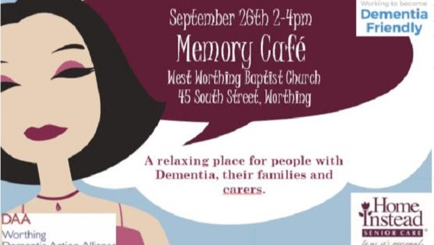 Home Instead to run Worthing Memory Cafe