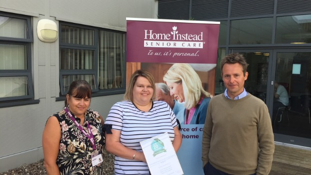 Western Gazette - Happy clients win home care firm an award for its reviews- Thursday 5th July 2018