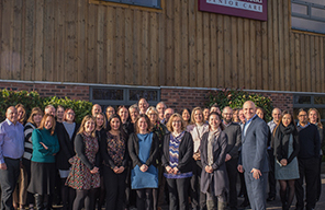 Home Instead UK headquarters team picture