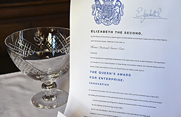 Home Instead receive Queen's Award for enterprise: Innovation