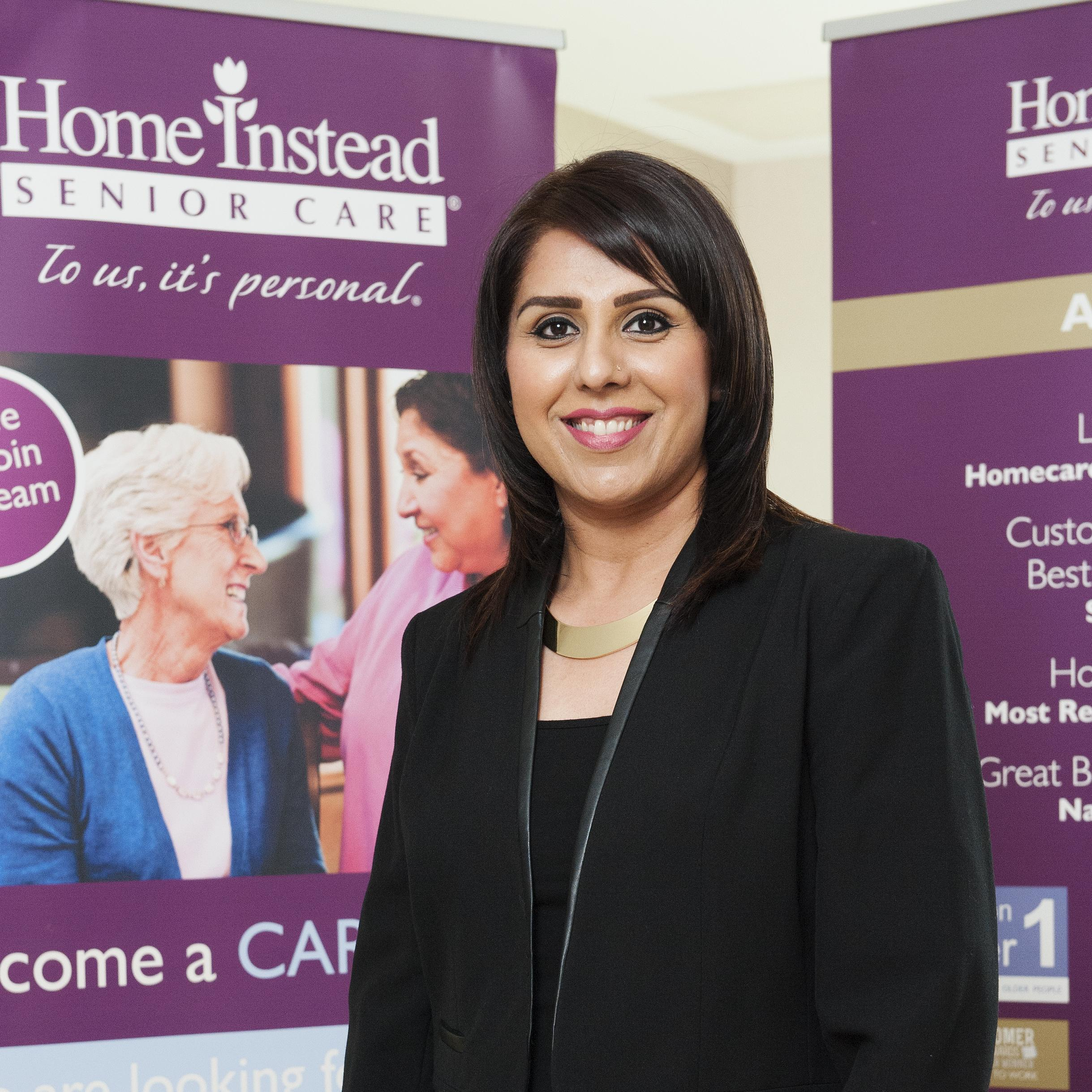 Tasnim Rehman, Business Manager at Home Instead Glasgow South