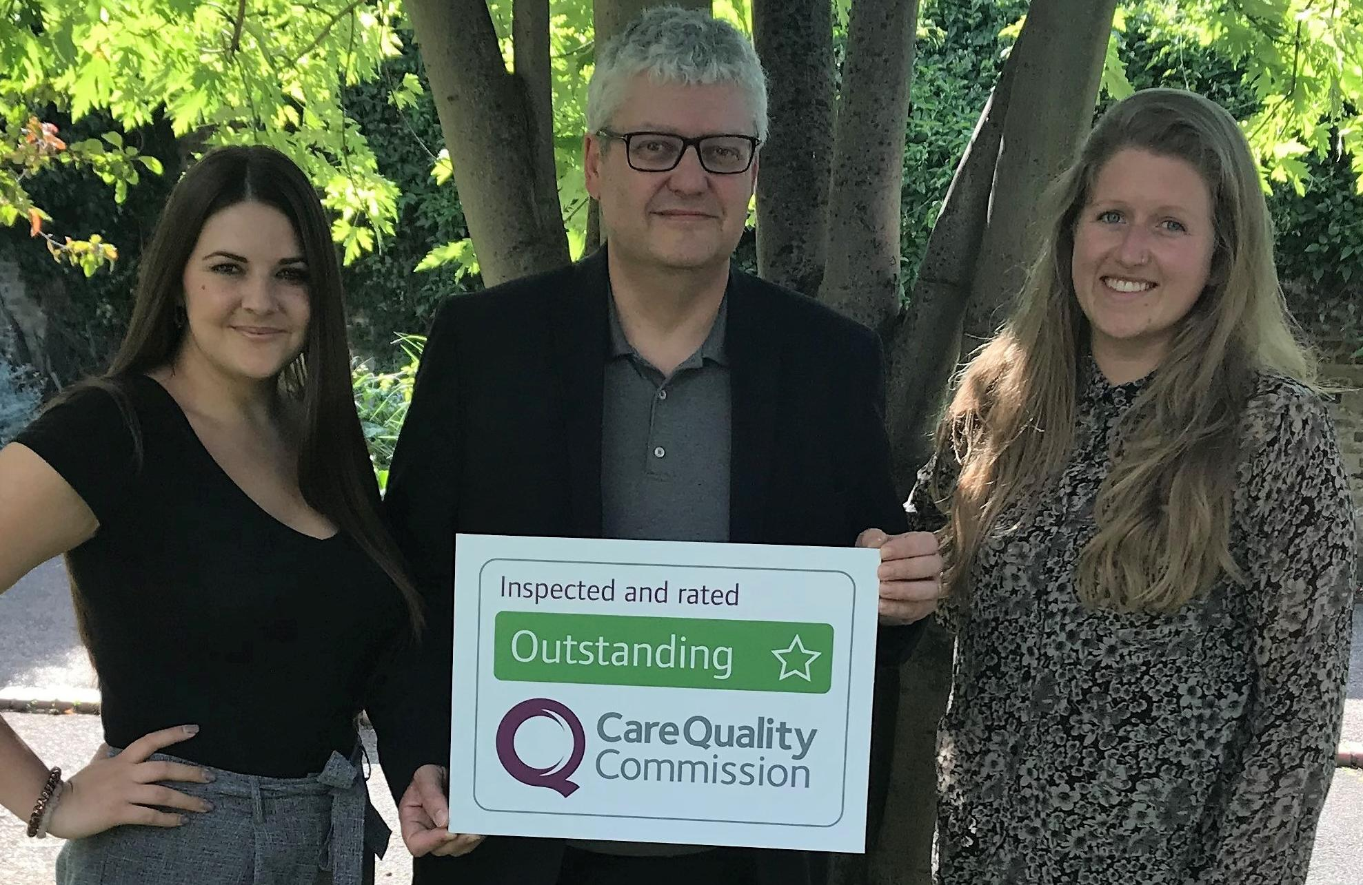 Home Instead Westminster awarded an Outstanding rating by the CQC