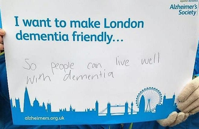 London has launched itself as the first capital city dementia friendly