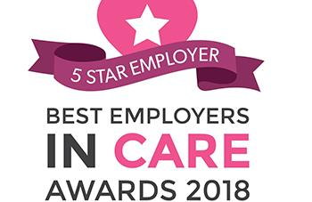 5 Star Employer Best Employers in Care awards 2018