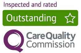 CQC rated Outstanding.  Care Quality Commission