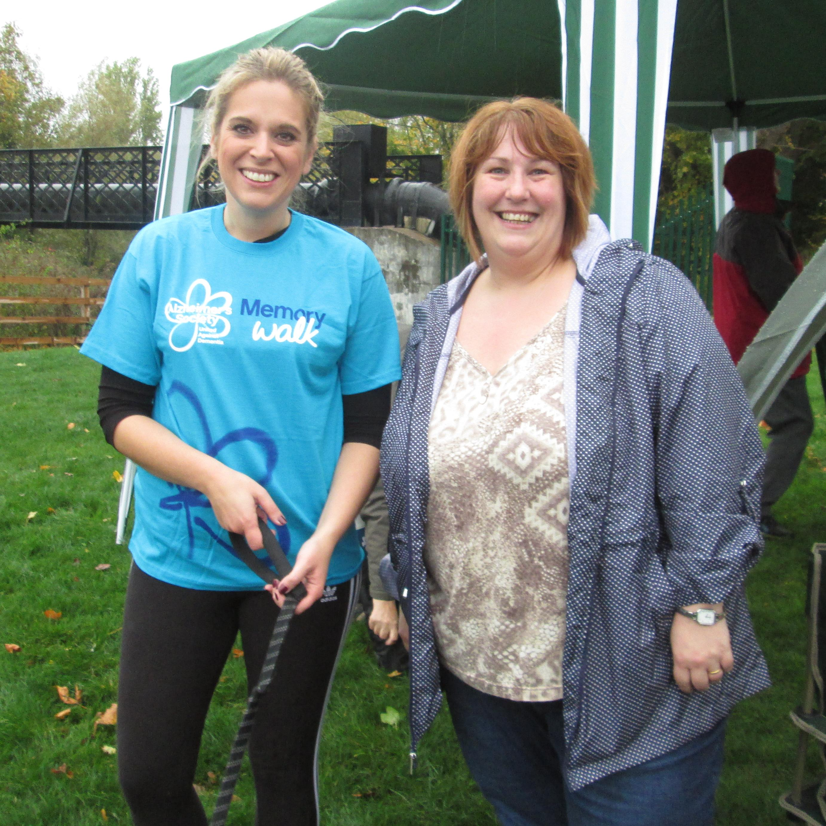 Laura Smith MP & Dawn Sime Director of Home Instead