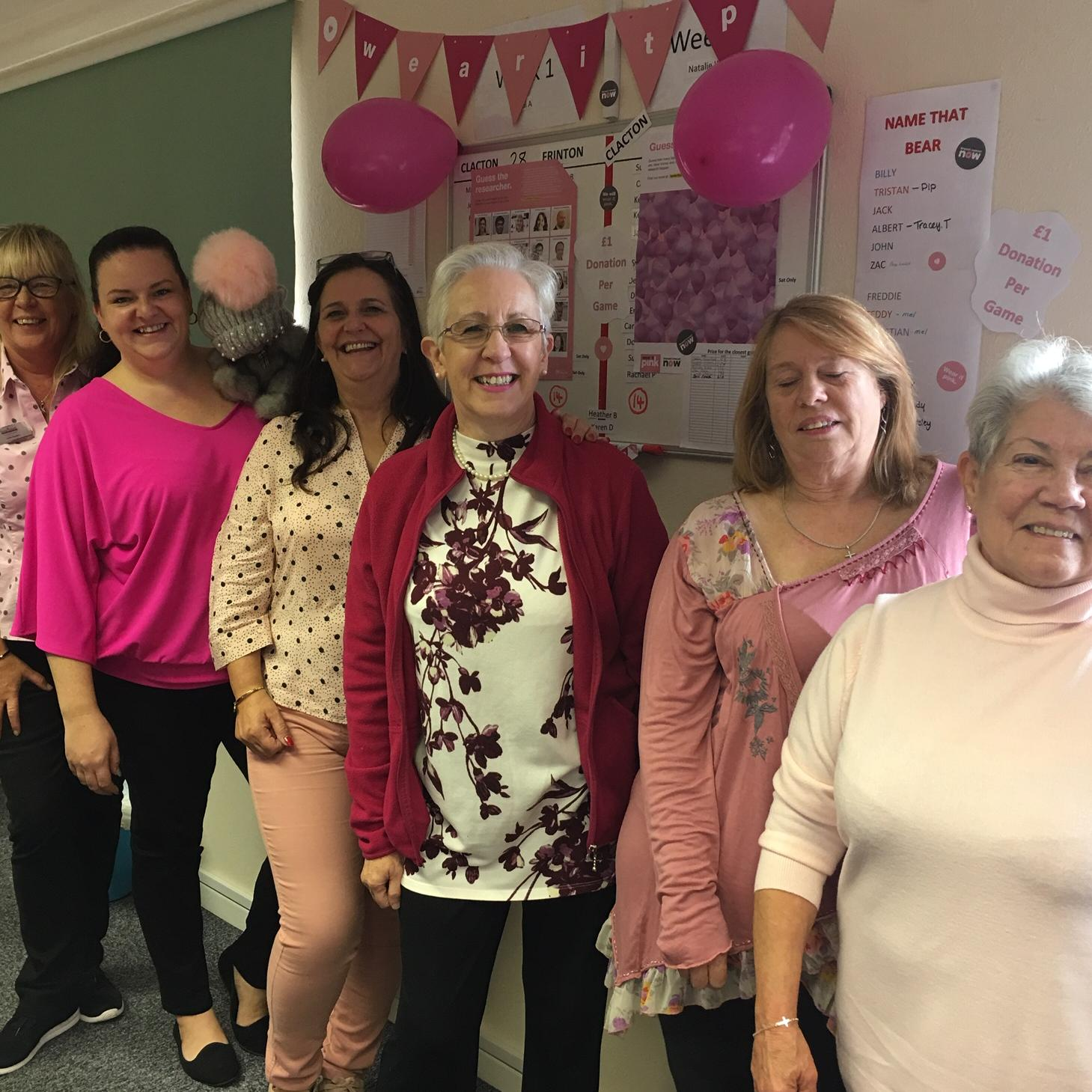 Wear it pink goes viral at Home Instead Frinton