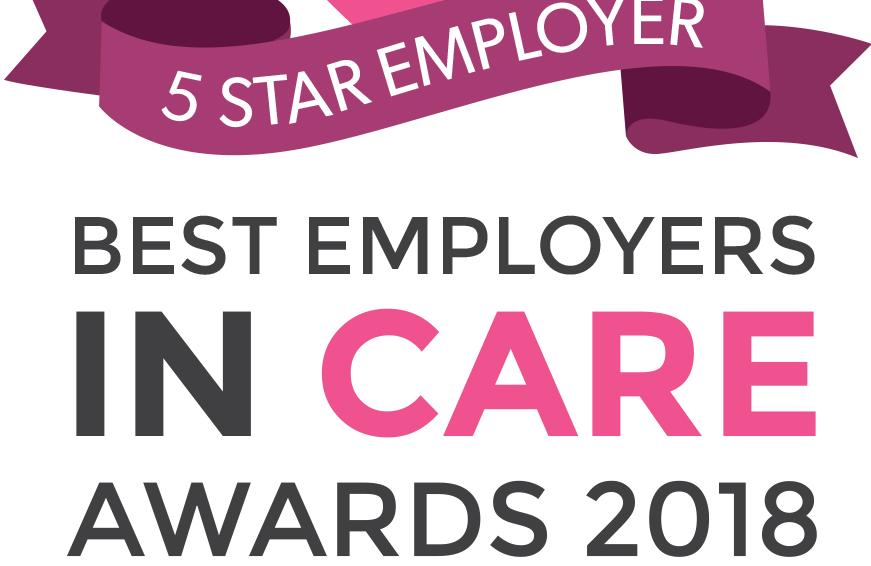 5 Star Employer in care awards
