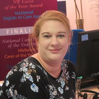 Laura Webb- Care Coordinator photograph