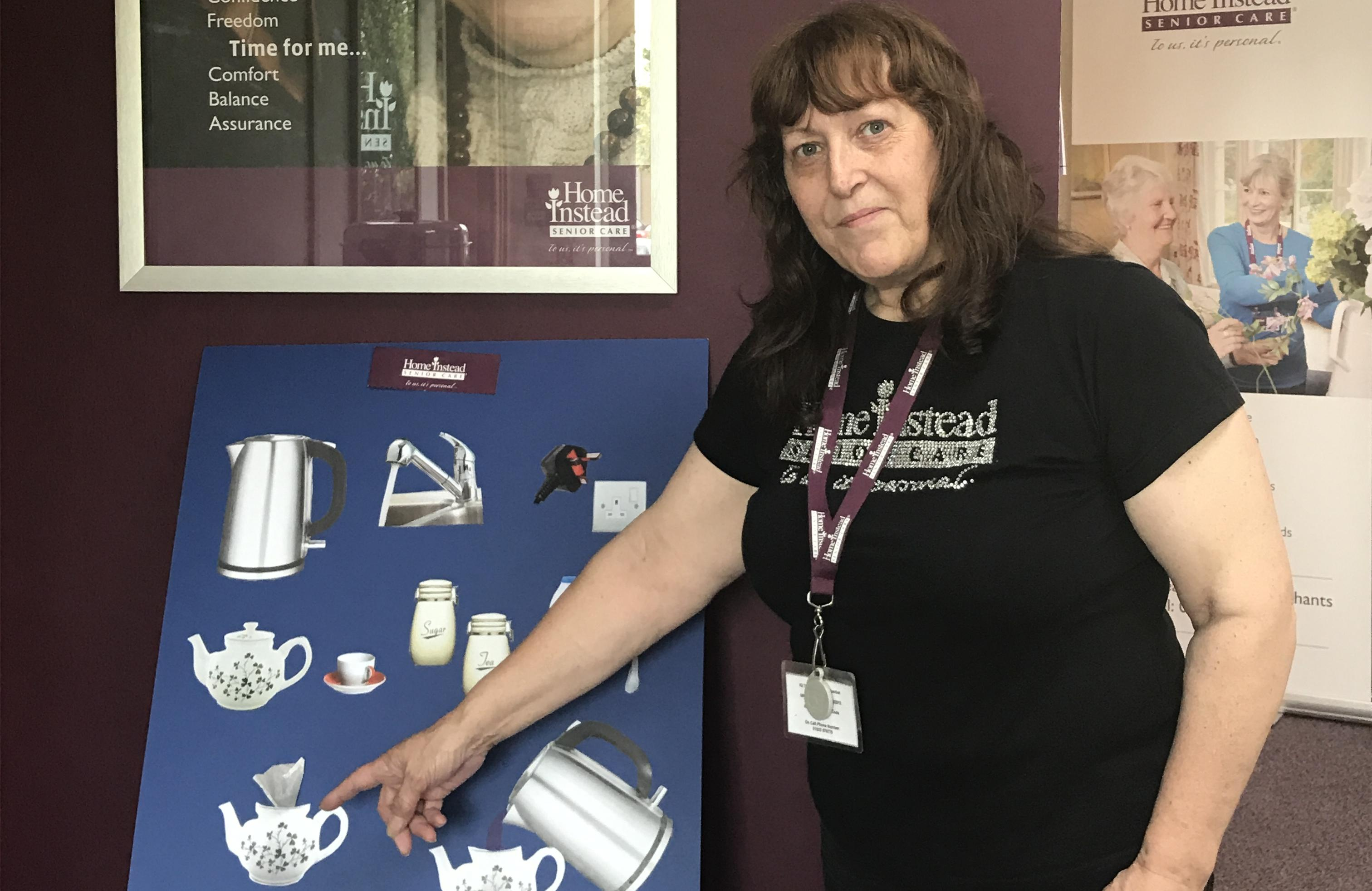 Are your staff dementia friendly? How many steps are there to make a cup of tea?
