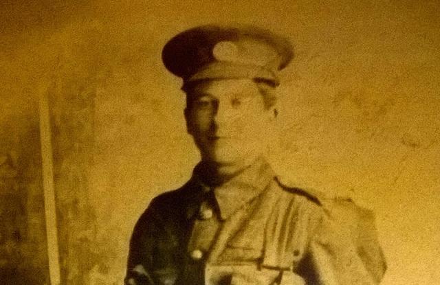 Private Alf Berridge