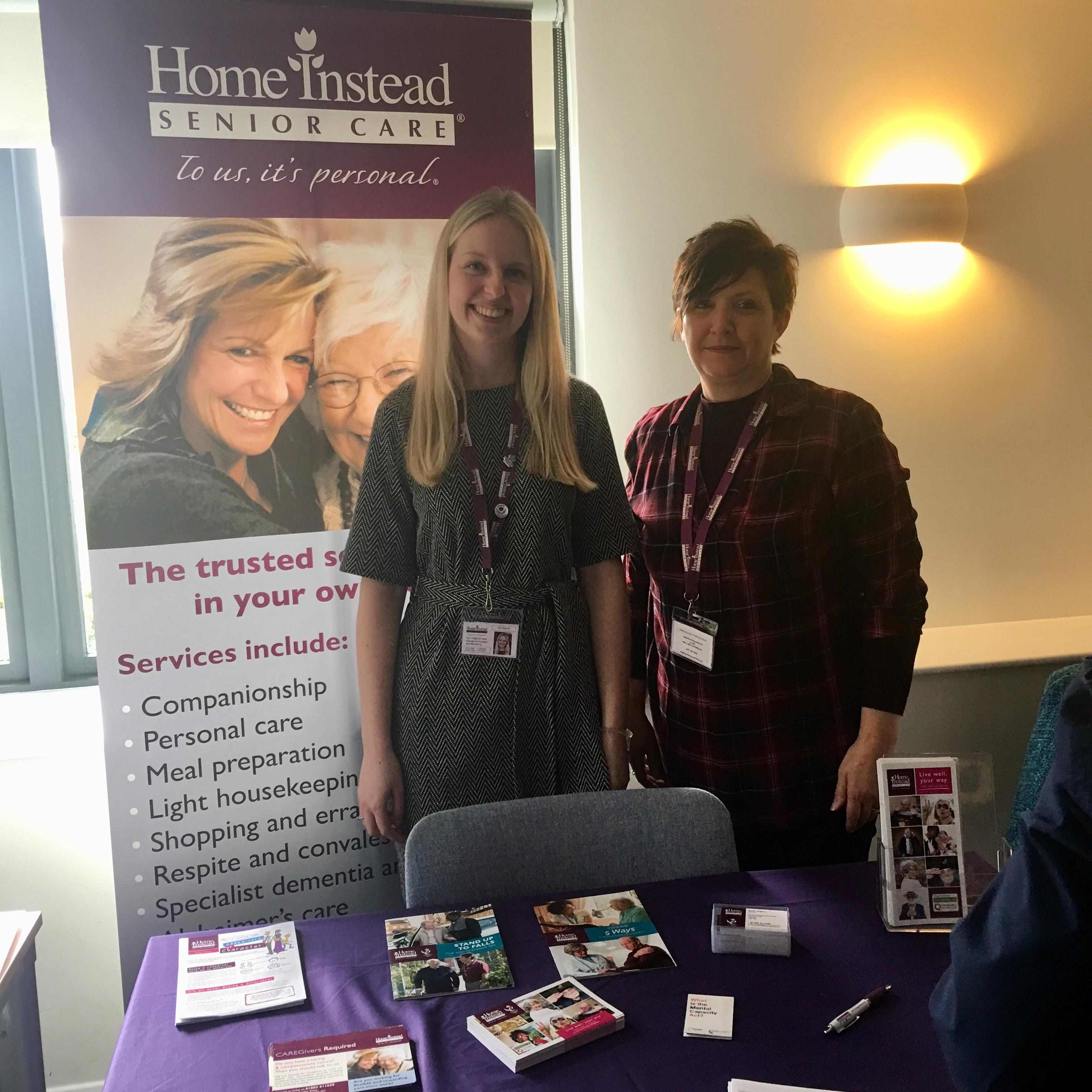 Sky and Claire attend Community Open Day Event