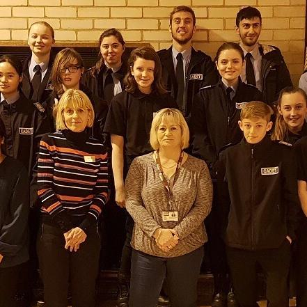 Dementia Awareness to Essex police Cadets