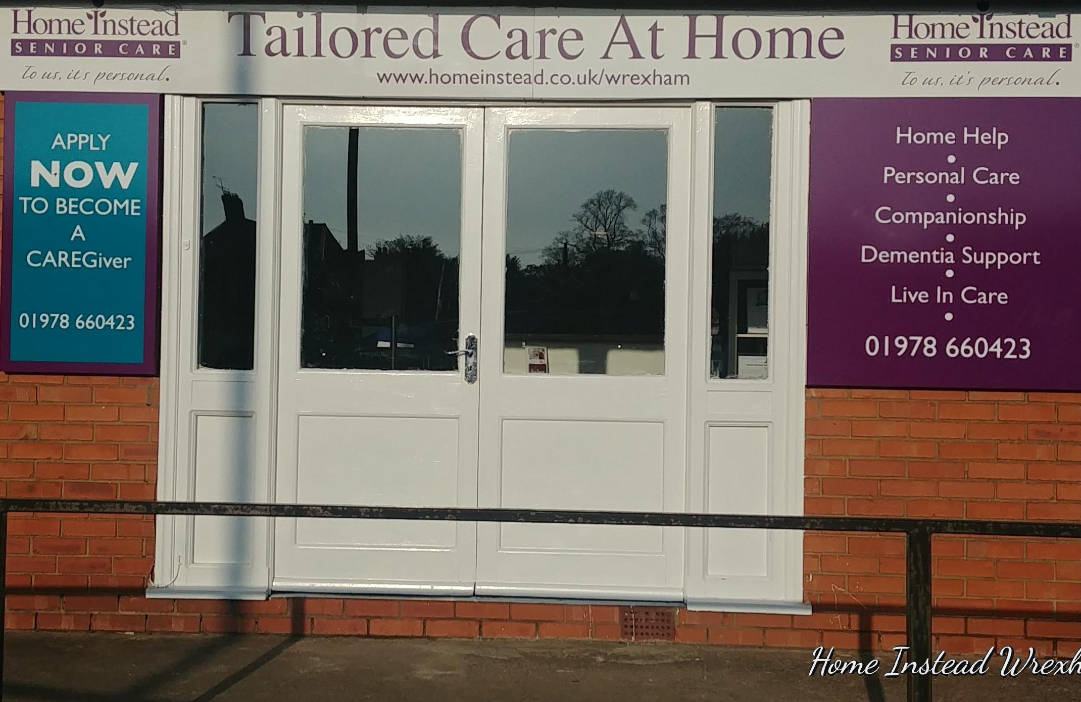 care office in Gresford