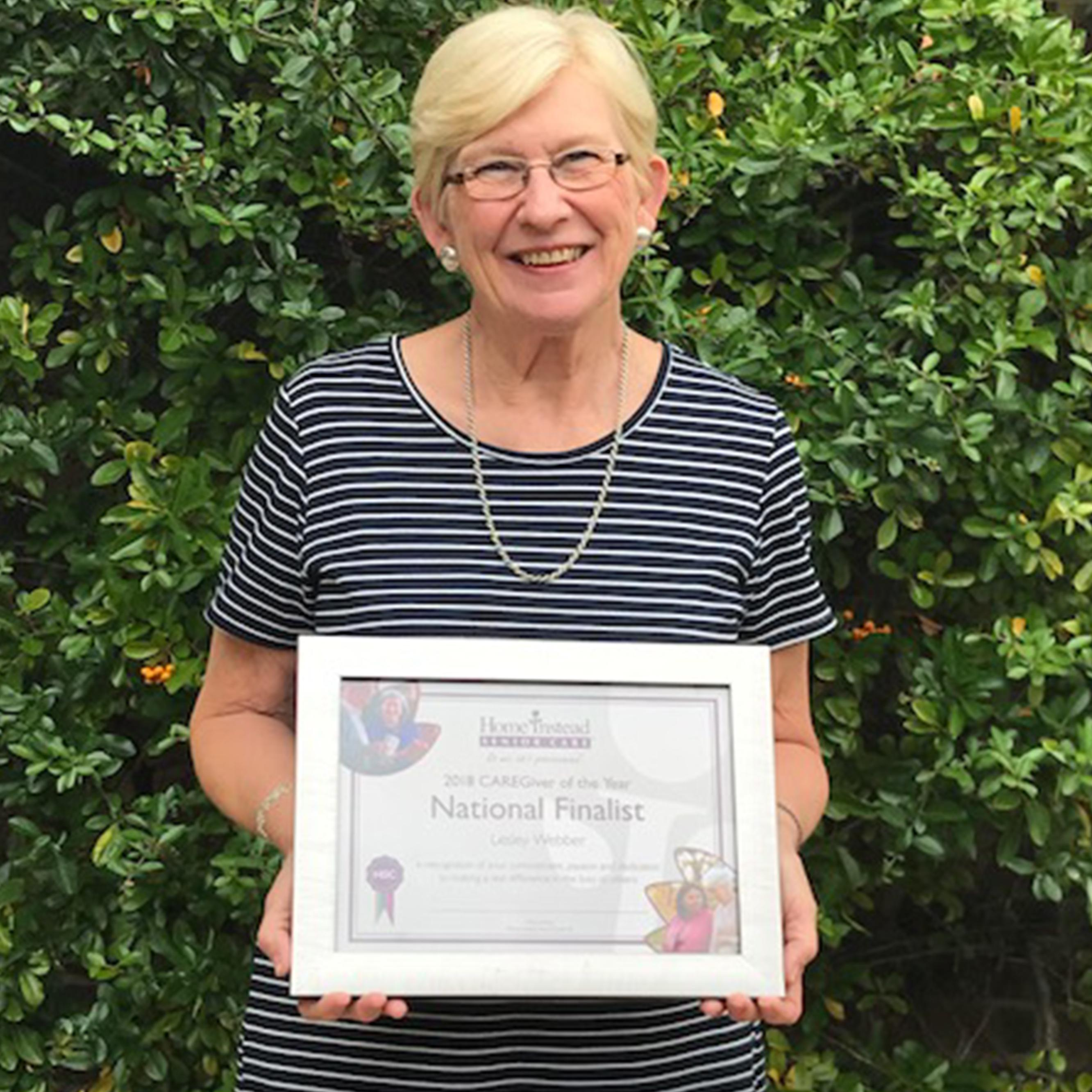 CAREGiver of the year finalist