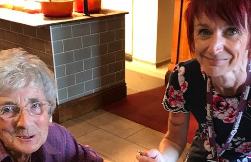 Older lady with Rotherham CAREGiver