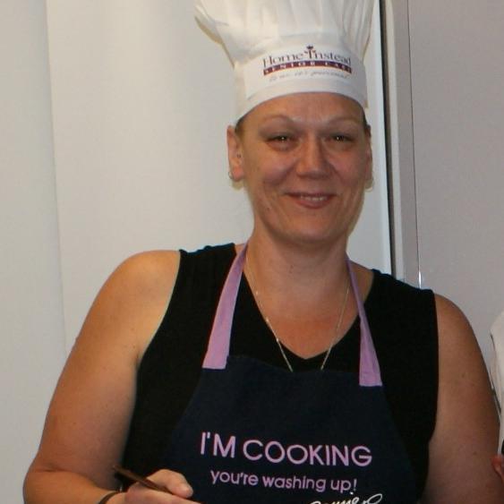 Big cook making Bring Joy fudge