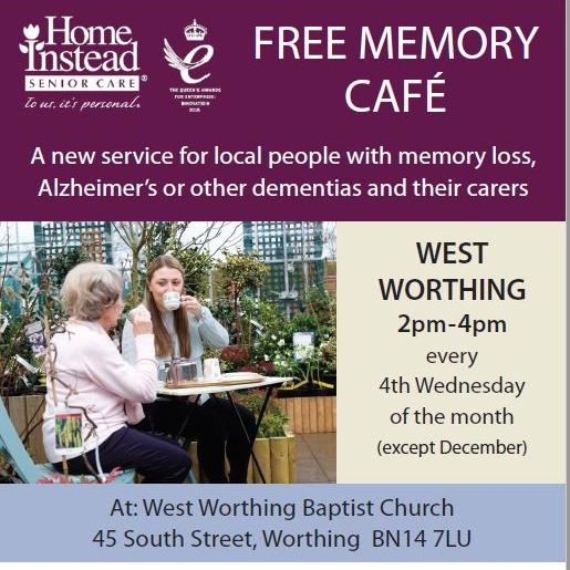 Memory Cafe Worthing