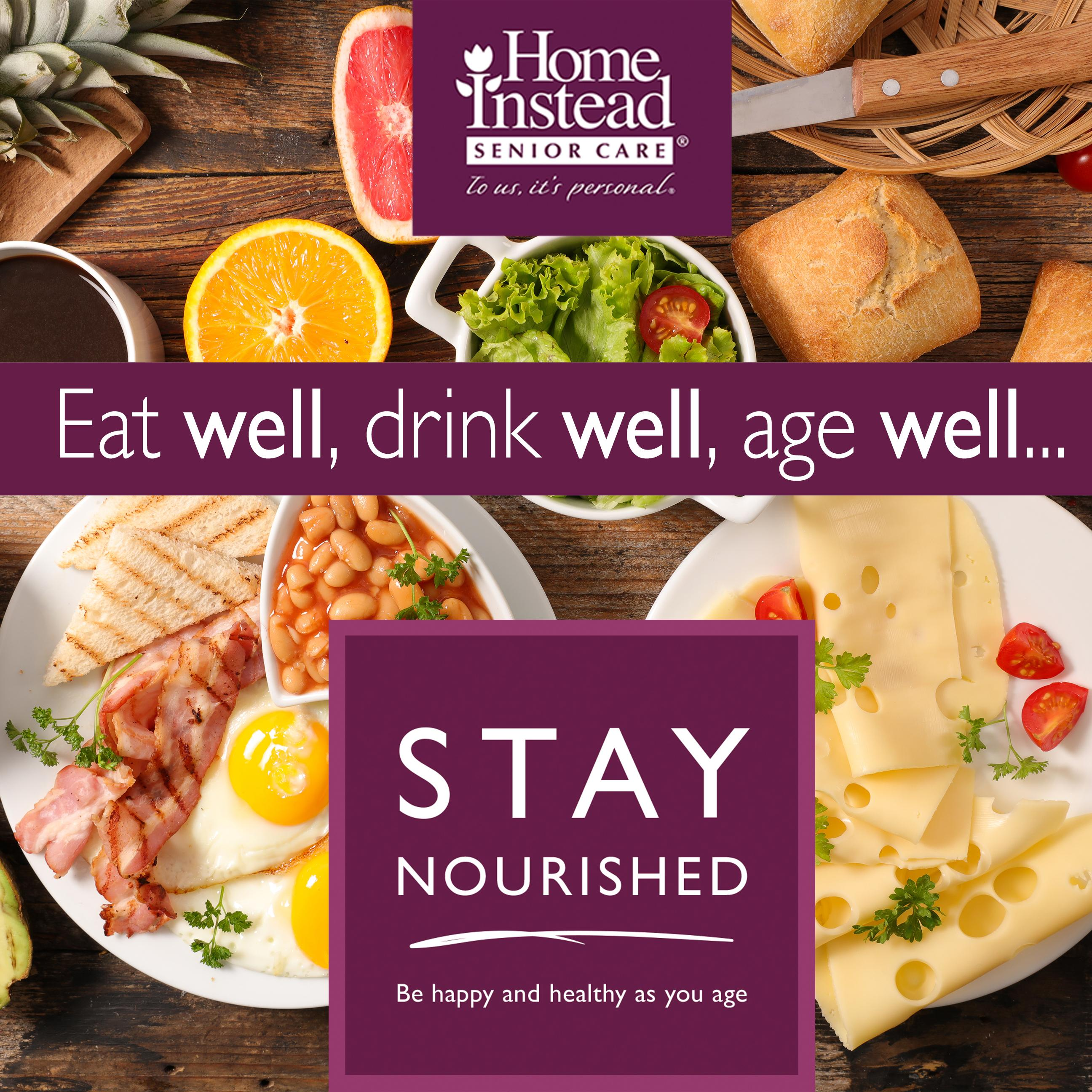 client, tips, health, stay nourished, home instead ,senior care, care,food,top tips