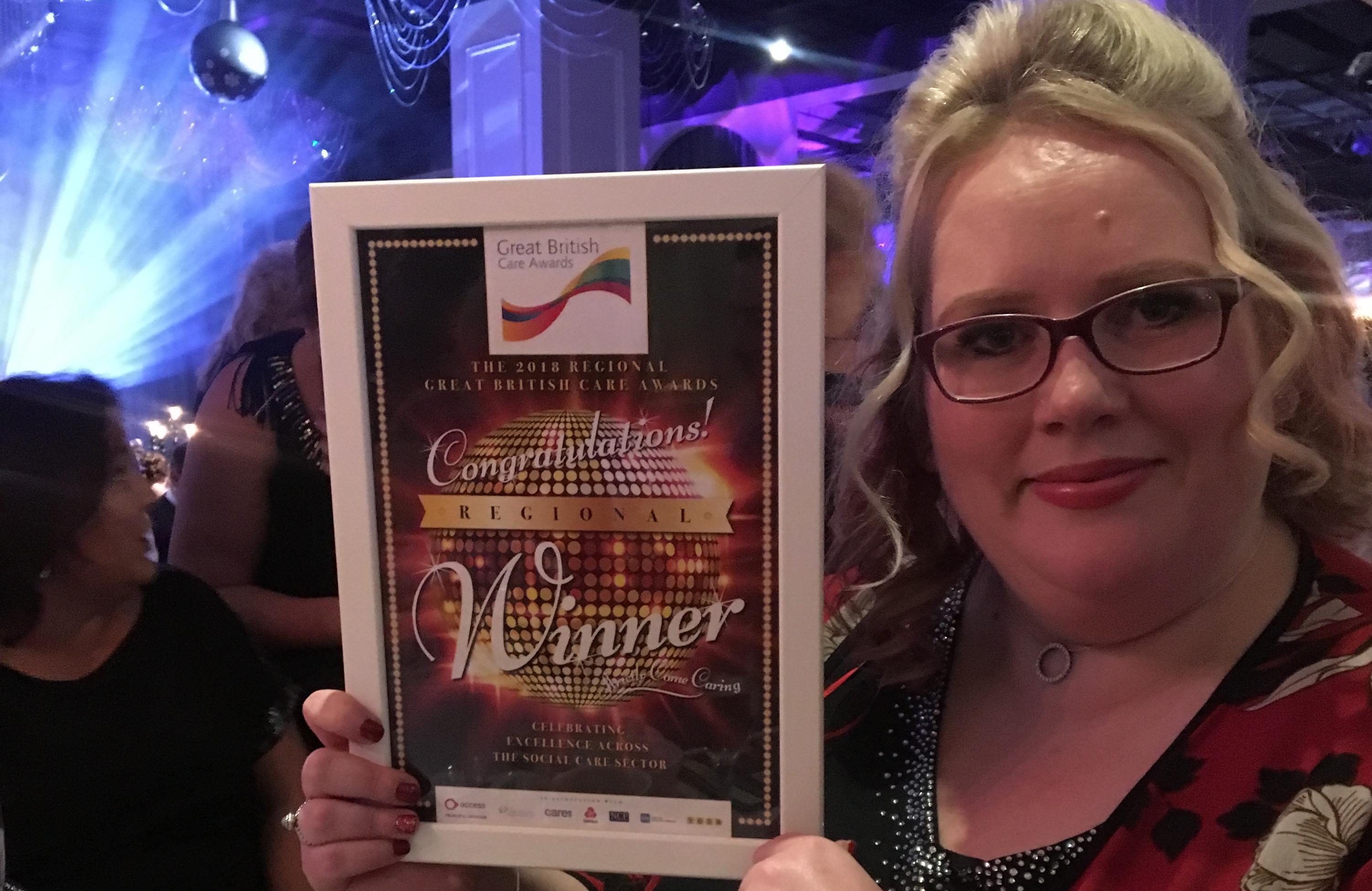 Photo of winner Charlotte Baines